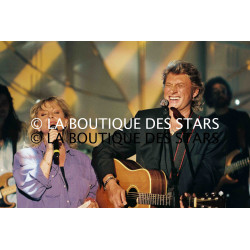 VÉRONIQUE SANSON et JOHNNY HALLYDAY