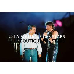 JOHNNY HALLYDAY et MICHEL SARDOU / PARC DES PRINCES 1993