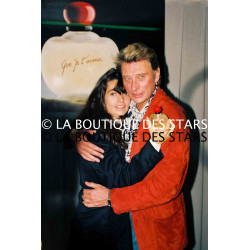 JOHNNY HALLYDAY et ADELINE BLONDIEAU