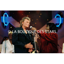 JOHNNY HALLYDAY et JAMES BROWN / 1995
